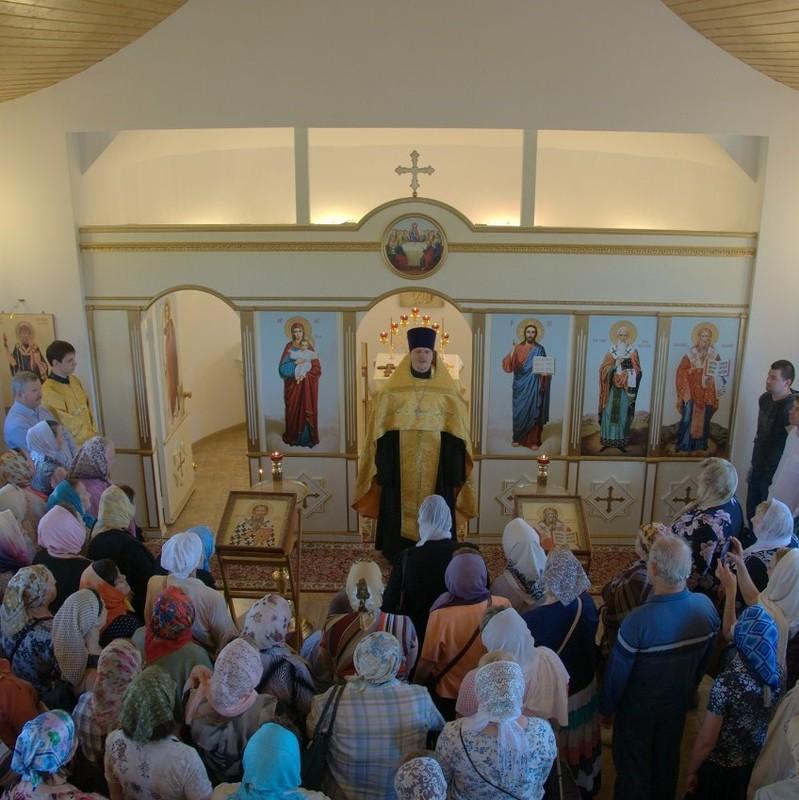 Первая литургия состоится 11 июля 2015г.