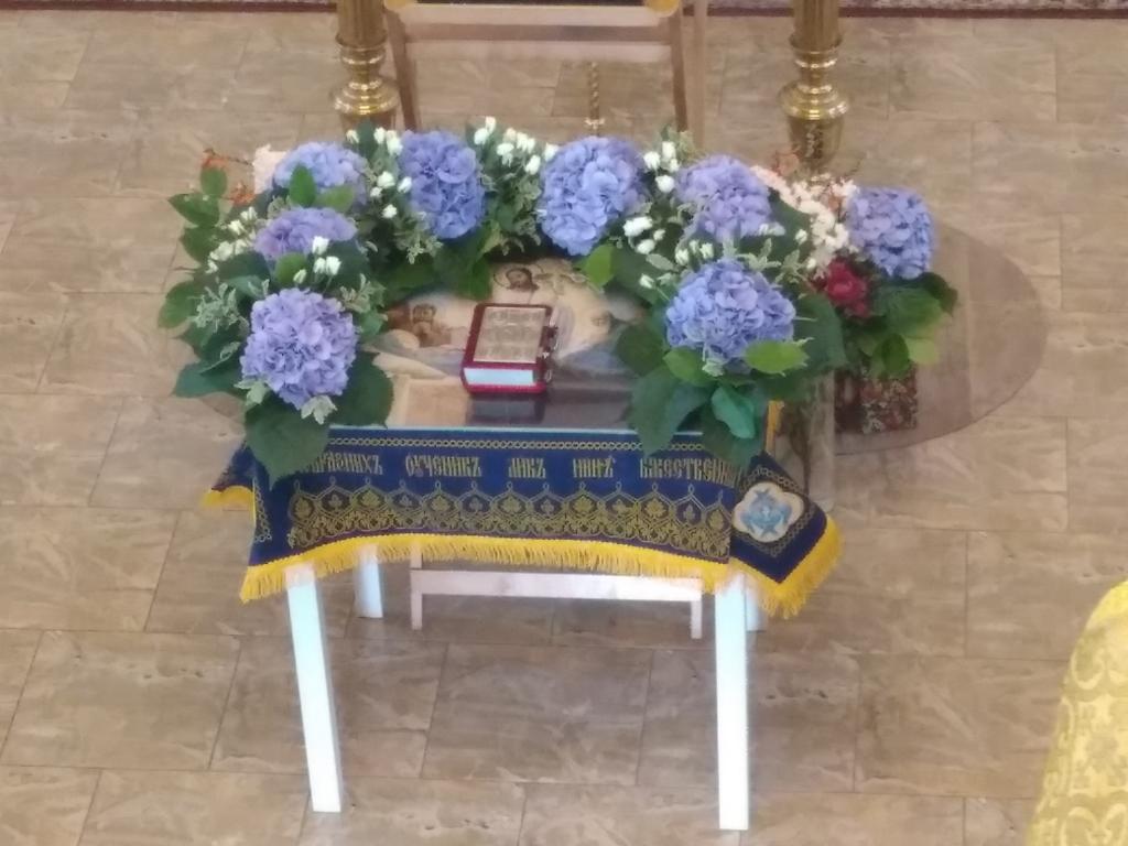 Успение Пресвятой Богородицы и погребение Плащаницы