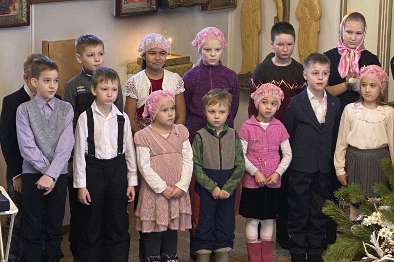 Рождественский концерт воскресной школы